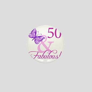 Fabulous_Plumb50 Mini Button
