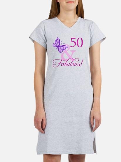 Fabulous_Plumb50 Women's Nightshirt