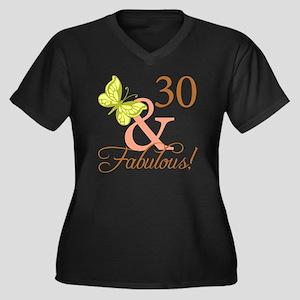 fabulous_aut Women's Plus Size Dark V-Neck T-Shirt