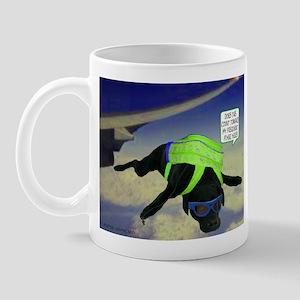 Black Lab Skydiving Mug