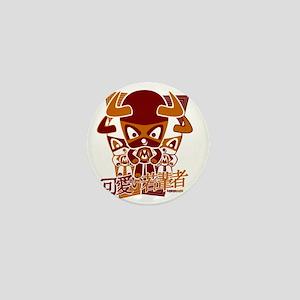 MinotaurTeeStencil10x10W Mini Button
