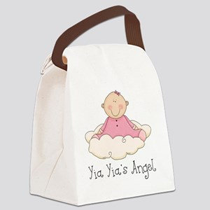 yia yias angel girl Canvas Lunch Bag