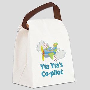 yia yias copilot Canvas Lunch Bag
