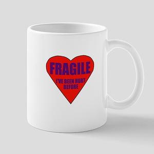 Fragile heart Mug