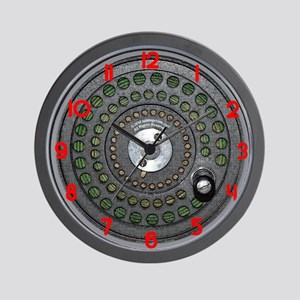 flyreel_large_clock_01 Wall Clock