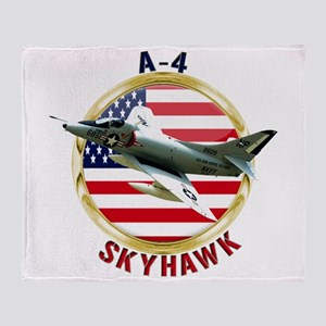 A-4 Skyhawk Throw Blanket