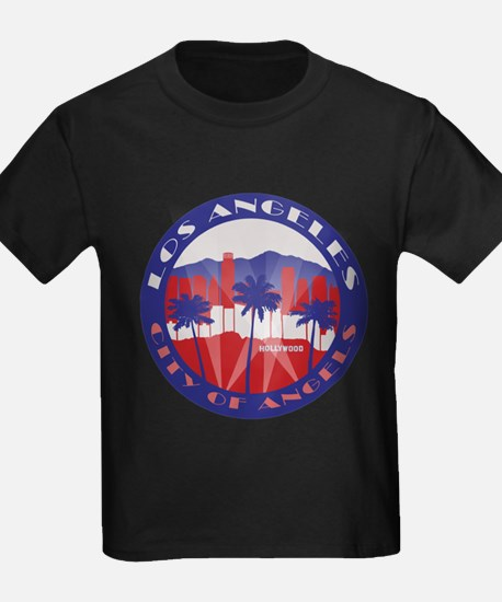 LA City of Angels patriot T-Shirt