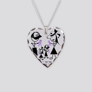 Rett Syndrome Awareness Necklace Heart Charm