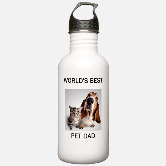 2-PET DAD Water Bottle