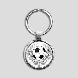 germany Round Keychain