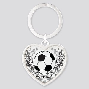 portugal Heart Keychain