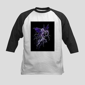 Purple Dragon Fairy Baseball Jersey