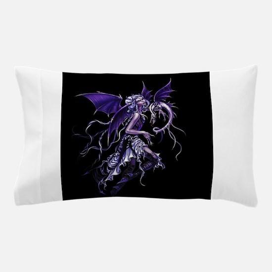 Purple Dragon Fairy Pillow Case