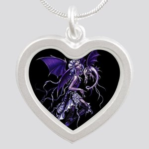 Purple Dragon Fairy Necklaces