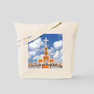 Lourdes Grotto Bonaire9x12 Tote Bag