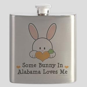 2-AlabamaSomeBunnyLovesMe Flask