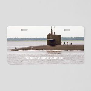 wvirginia mini poster print Aluminum License Plate
