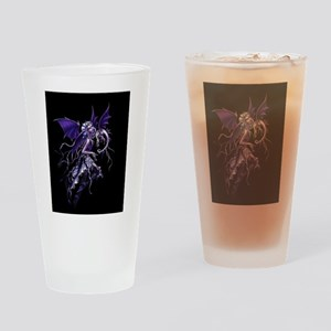 Purple Dragon Fairy Drinking Glass