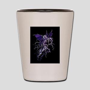 Purple Dragon Fairy Shot Glass