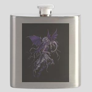 Purple Dragon Fairy Flask