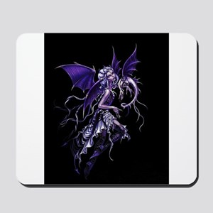 Purple Dragon Fairy Mousepad