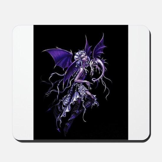 Purple Dragon Fairy Mousepad
