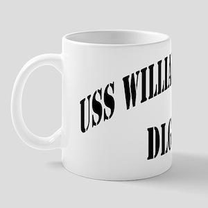 wvpratt dlg black letters Mug