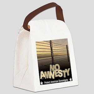 march_no_amnesty Canvas Lunch Bag