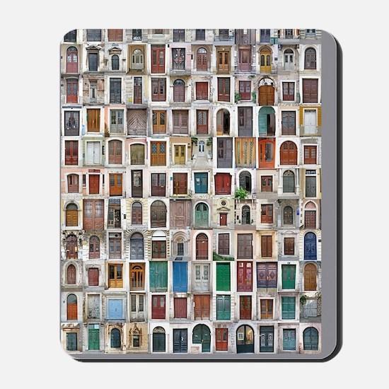 Croatia Door 9x12 Mousepad