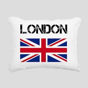 London Rectangular Canvas Pillow