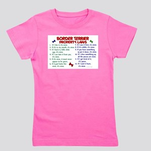 Border Terrier Property Laws 2 T-Shirt
