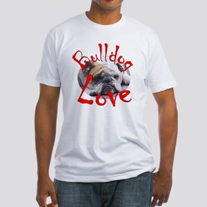 Bulldog Love Fitted T-Shirt