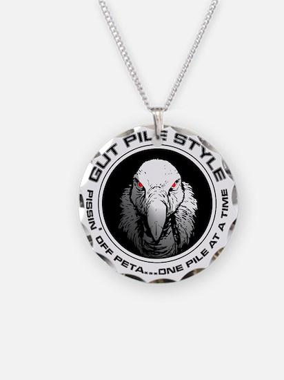Gut Pile Style Buzzard Necklace