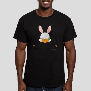 GeorgiaSomeBunnyLovesM Men's Fitted T-Shirt (dark)