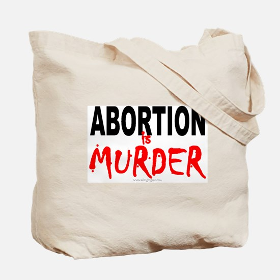 Abortion Tote Bag