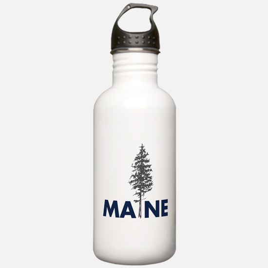 Unique Save the trees pine trees Water Bottle