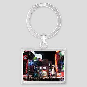 tokyo_001_14x10 Landscape Keychain
