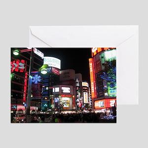 tokyo_001_14x10 Greeting Card