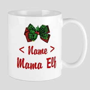 Personalized Mama Elf Mug