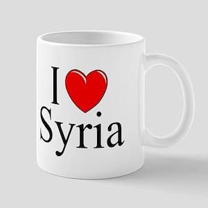 """""""I Love Syria"""" Mug"""