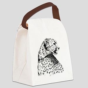 Cheetah_12x12 Canvas Lunch Bag
