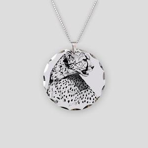 Cheetah_12x12 Necklace Circle Charm