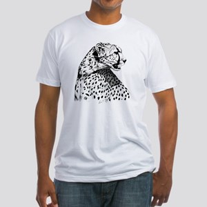 Cheetah_12x12 Fitted T-Shirt