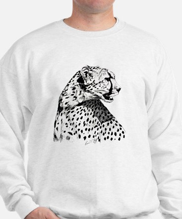 Cheetah_5x7 Sweatshirt