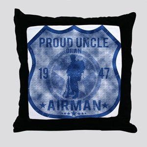 UNCLE Throw Pillow