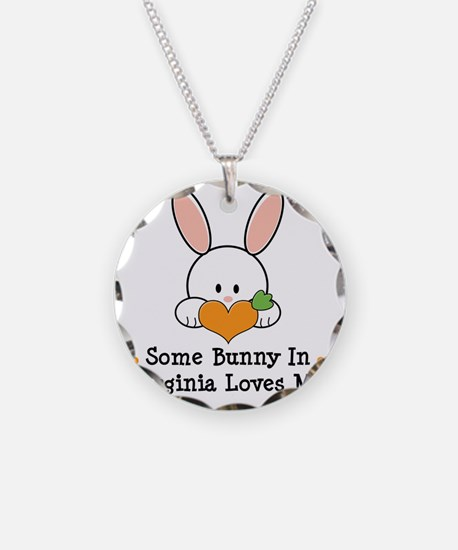 2-VirginiaSomeBunnyLovesMe Necklace