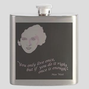 Mae_West_MousePad Flask