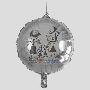 2-Autism Awareness Mylar Balloon