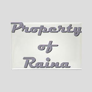 Property Of Raina Female Magnets