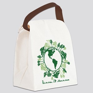Keep It Green Canvas Lunch Bag